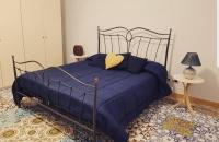 letto completo blu