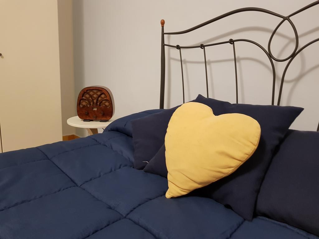 testata letto blu